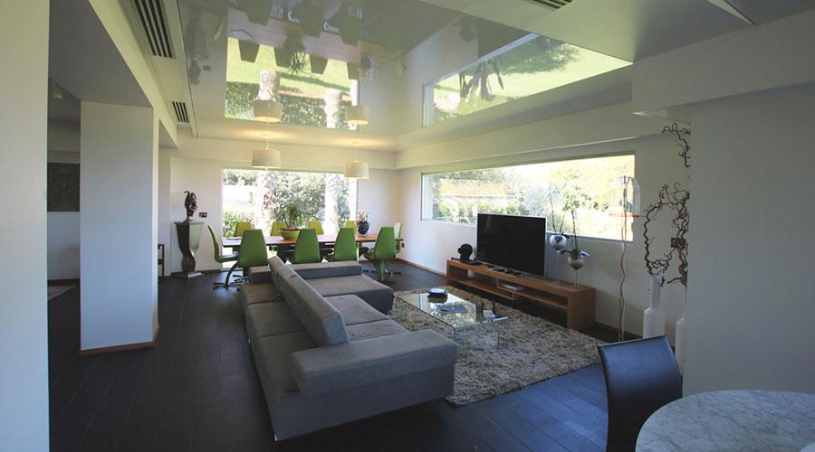 Corvaia specializzati in tecniche edilizie innovative: soffitto