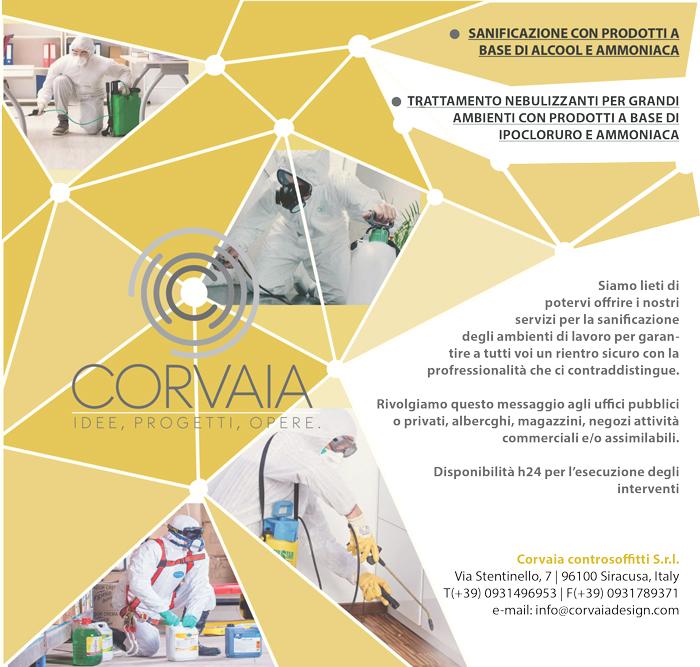 Sanificazione Corvaia